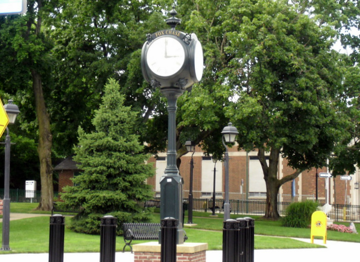 Fox Chase Lions Club Street Clock