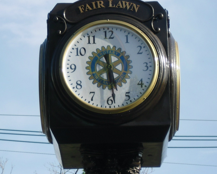 Fair Lawn Rotary Club Clock