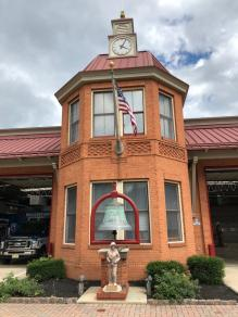Moorestown Fire Department Clock